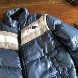 New England Patriots Puffer Jacket / Vest